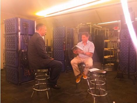Oakridge Global Energy Solutions CEO Steve Barber talks with Ken Evseroff